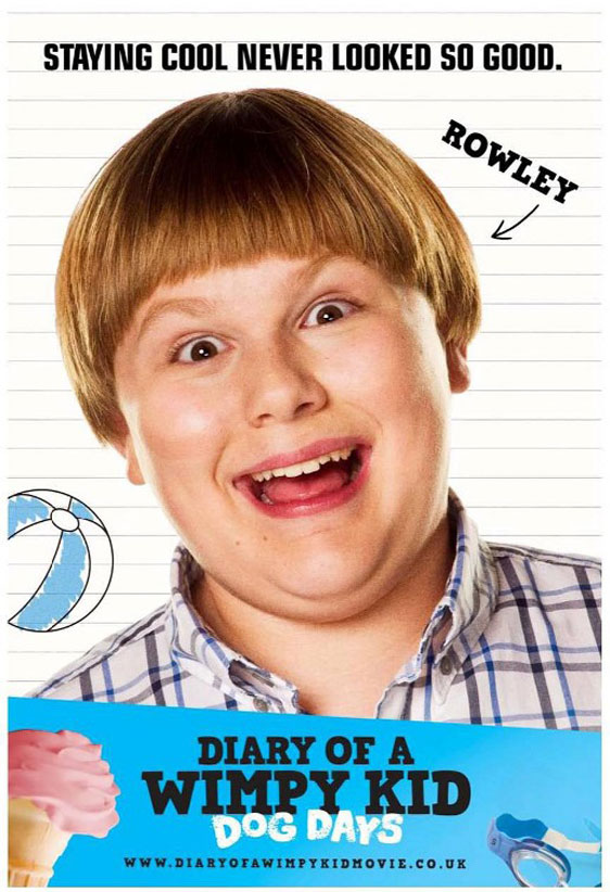 Diary of a Wimpy Kid: Dog Days Poster #5