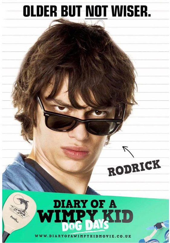 Diary of a Wimpy Kid: Dog Days Poster #6
