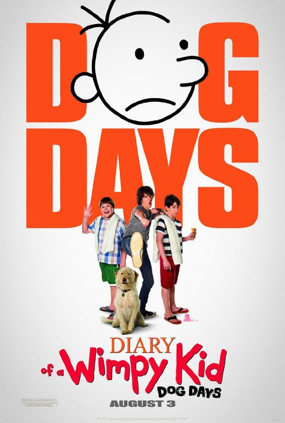 Diary of a Wimpy Kid: Dog Days Poster #1