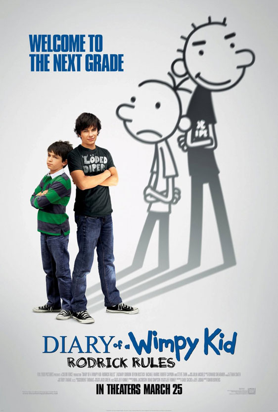 Diary of a Wimpy Kid: Rodrick Rules Poster #1