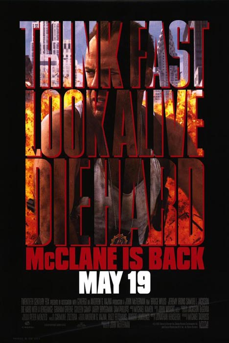 Die Hard with a Vengeance Poster #1