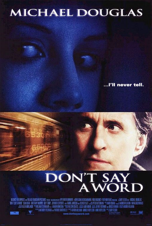 Don't Say a Word Poster #1