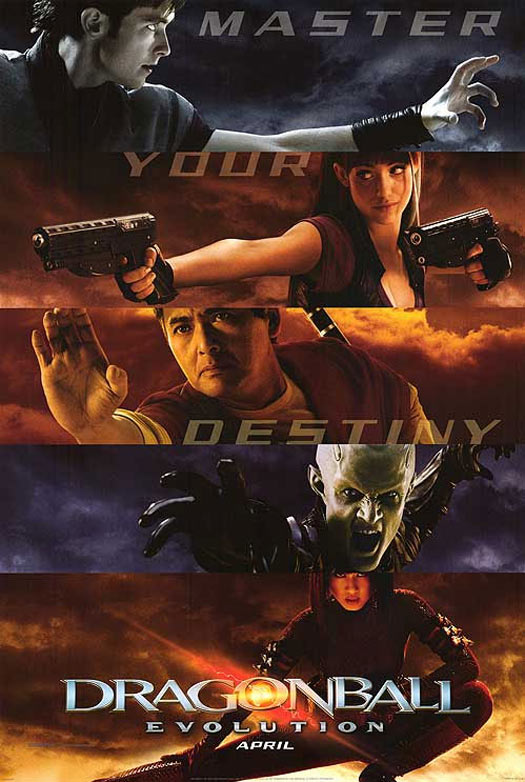 Dragonball Evolution Poster #4