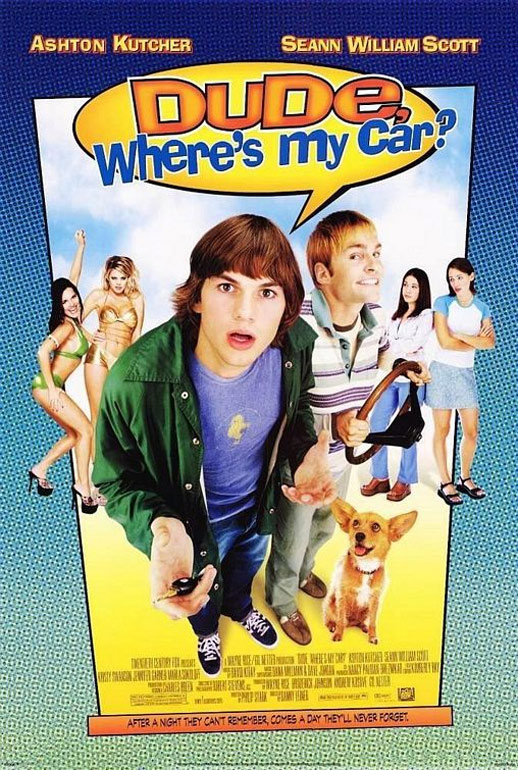 Dude, Where's My Car? Poster #1