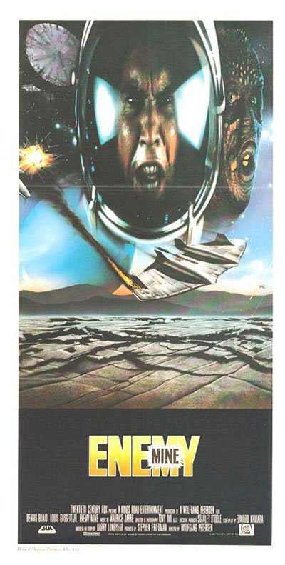 Enemy Mine Poster #3