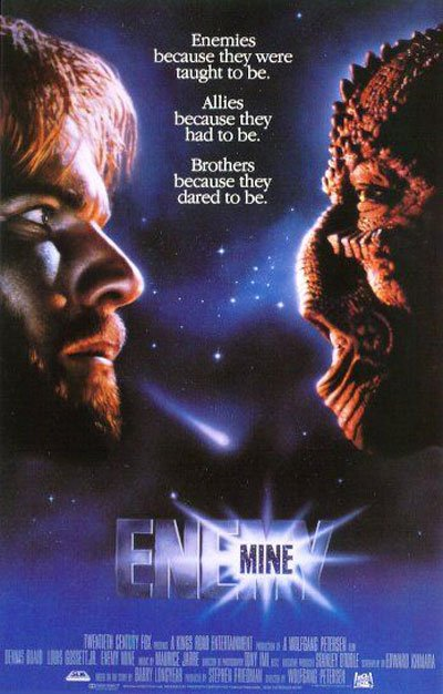Enemy Mine Poster #1