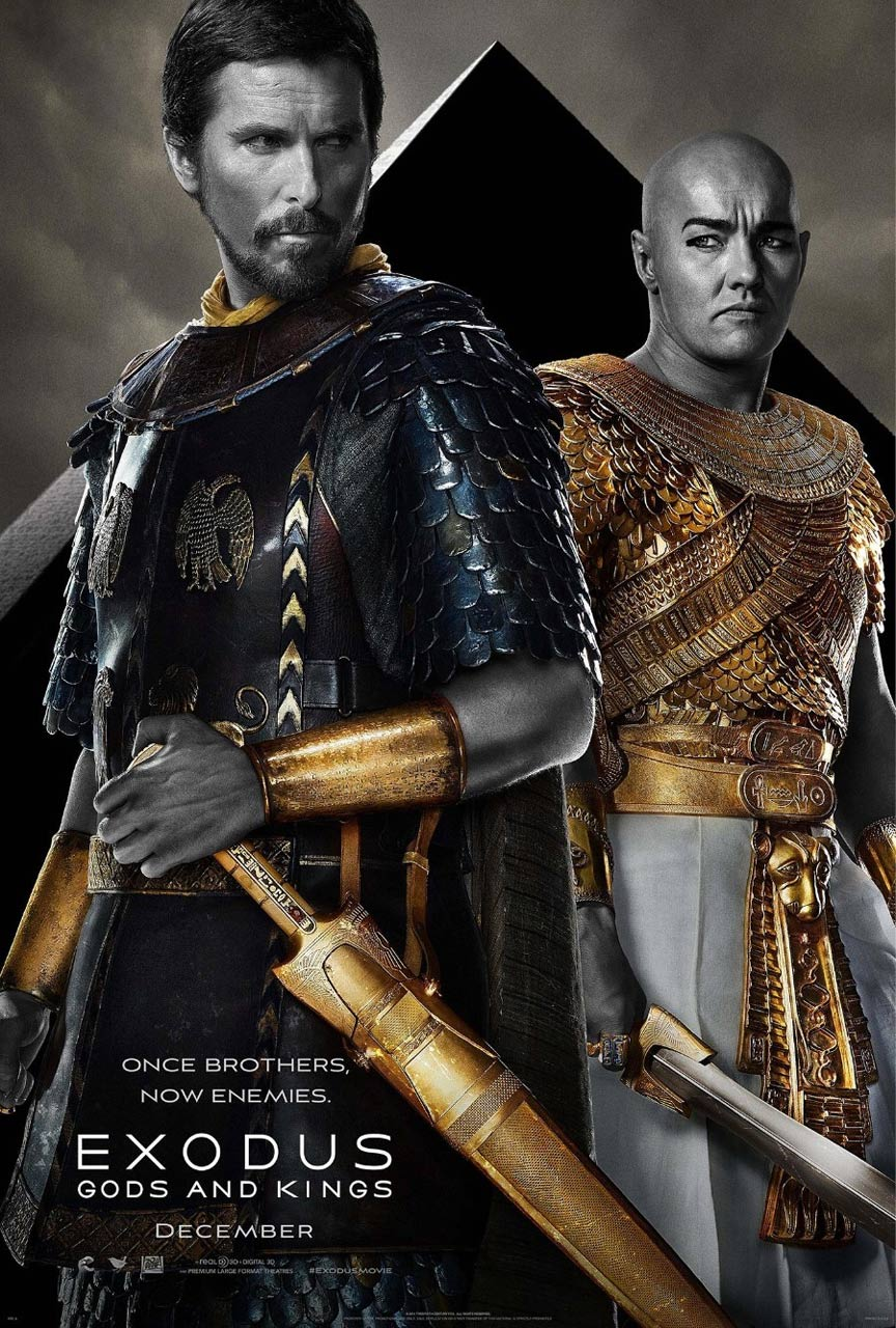 Exodus: Gods and Kings Poster #1