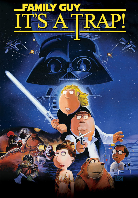 Family Guy: It's a Trap! Poster #1