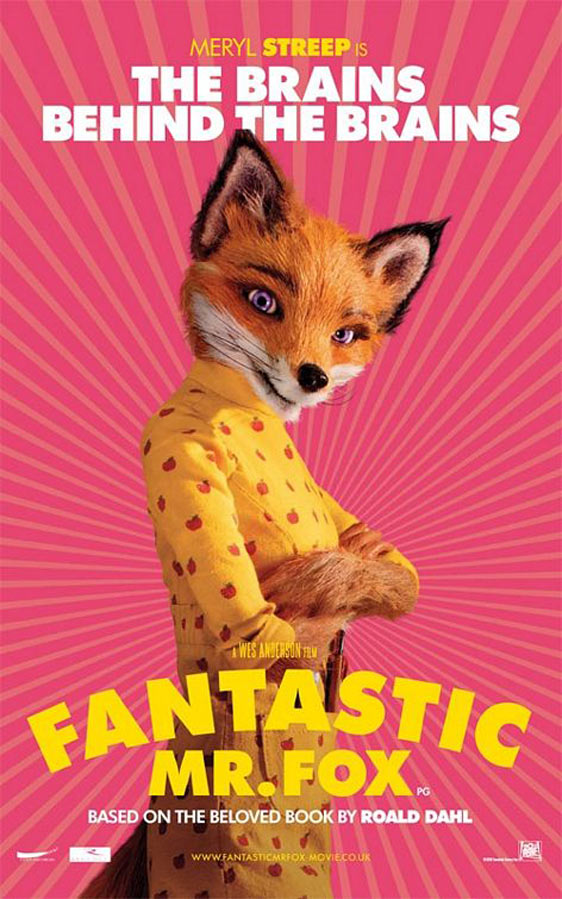 The Fantastic Mr. Fox Poster #4