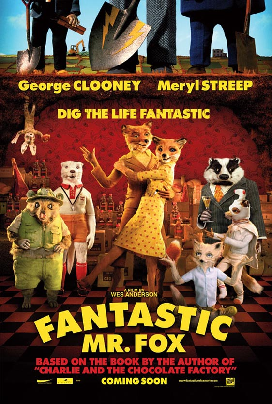 The Fantastic Mr. Fox Poster #1