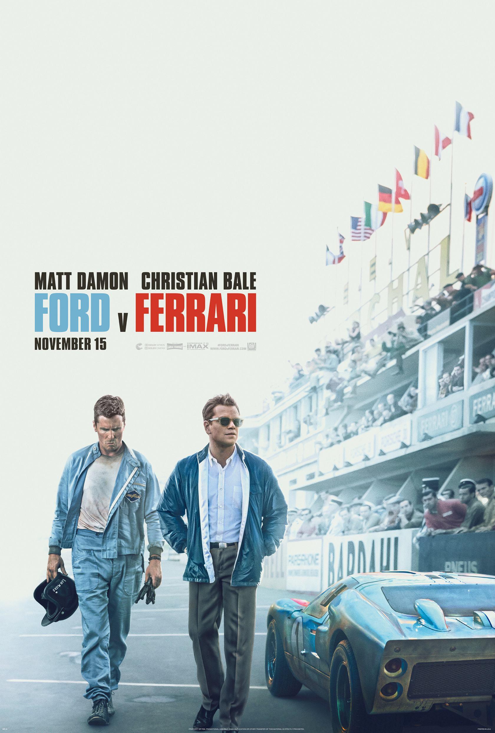 Ford v Ferrari Poster #2