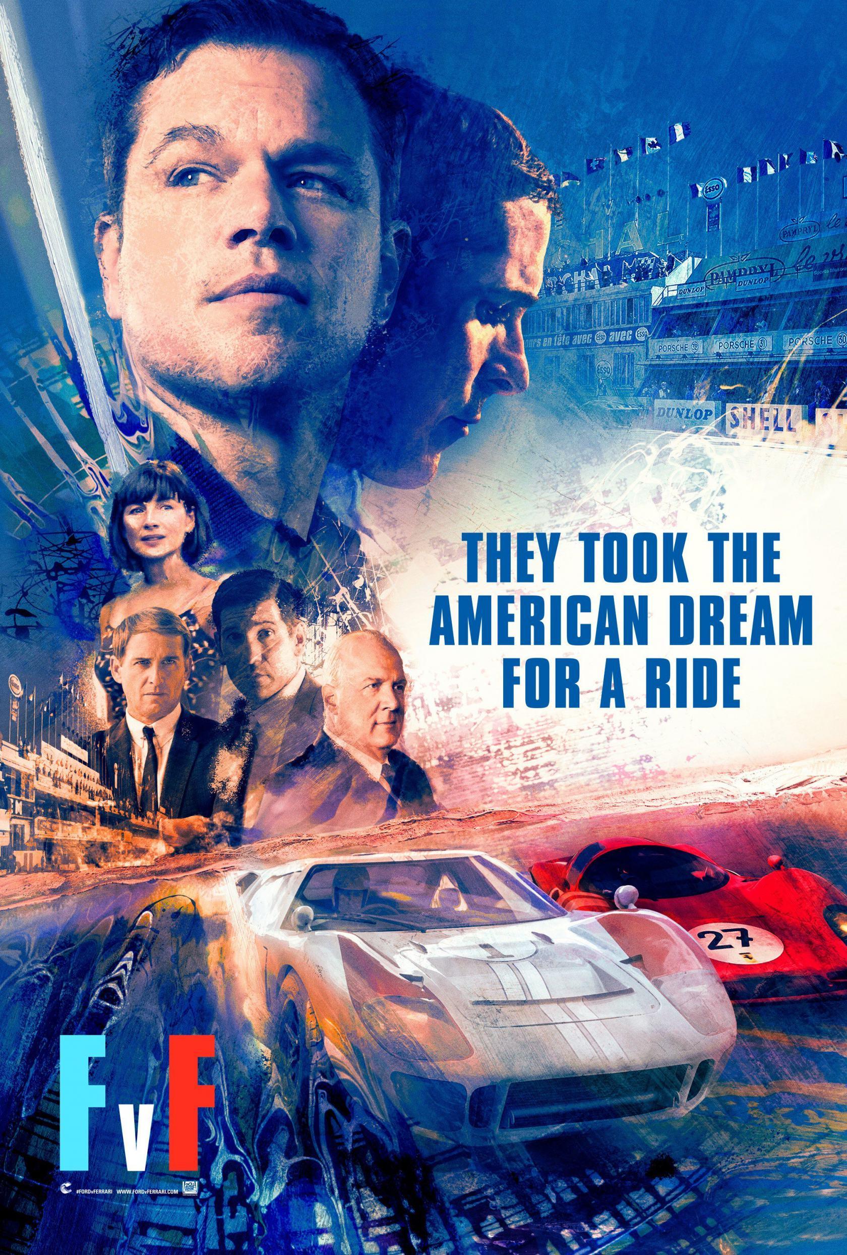 Ford v Ferrari Poster #3