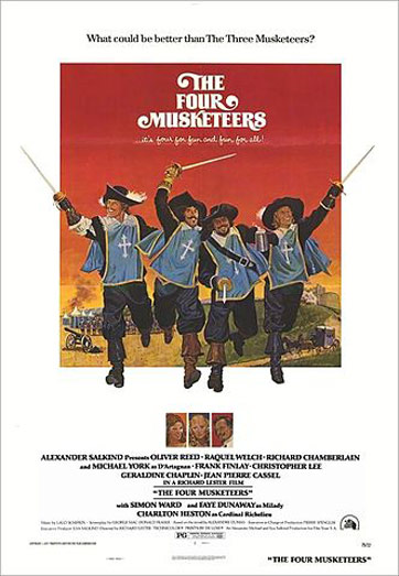 The Four Musketeers Poster #1
