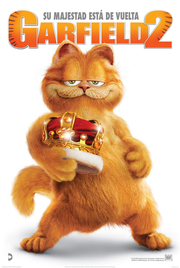 Garfield: A Tail of Two Kitties (2006) Poster #3 - Trailer ...