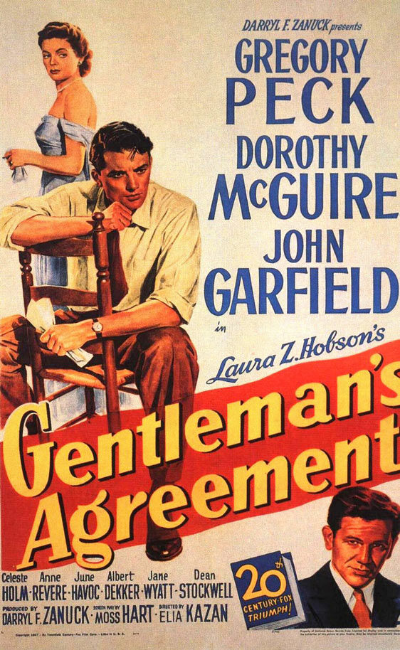 Gentlemen's Agreement Poster #1