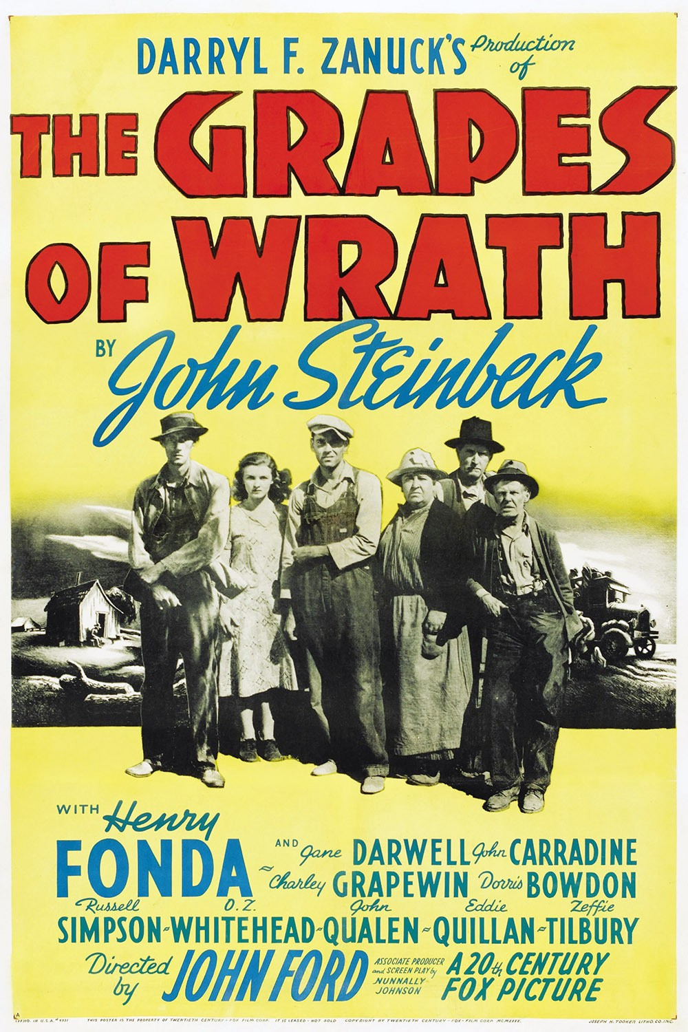 The Grapes of Wrath Poster #2