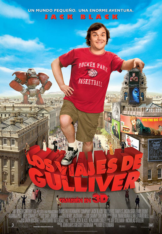 Gulliver's Travels Poster #4