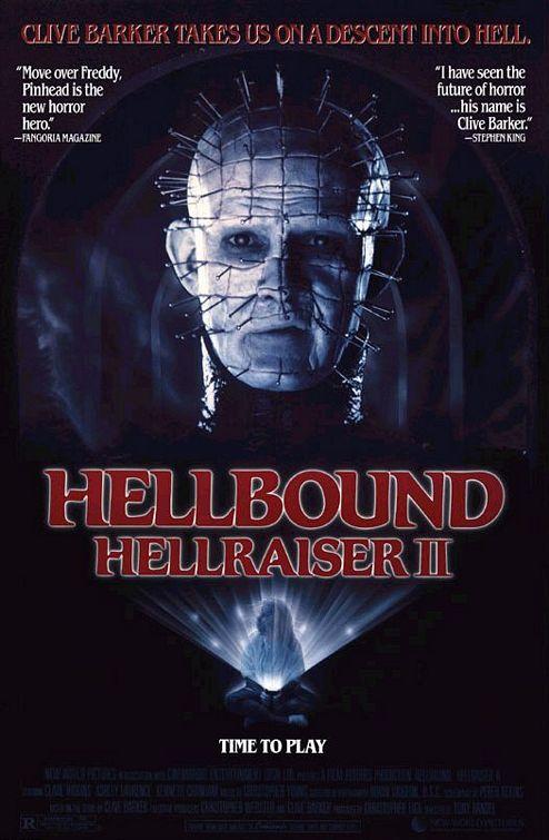 Hellbound: Hellraiser II Poster #1