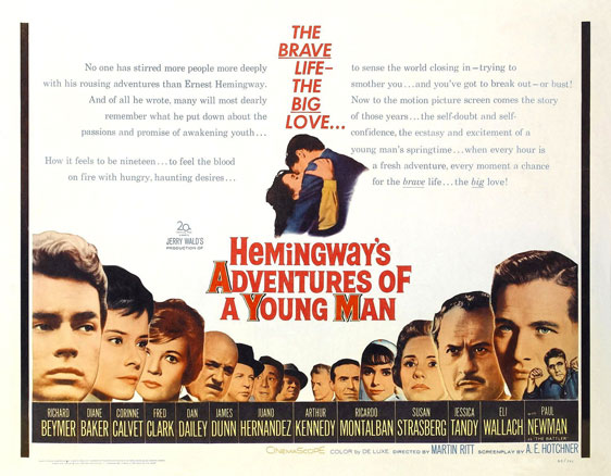 Hemingway's Adventures of a Young Man Poster #1