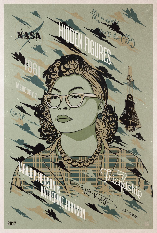 Hidden Figures Poster #7