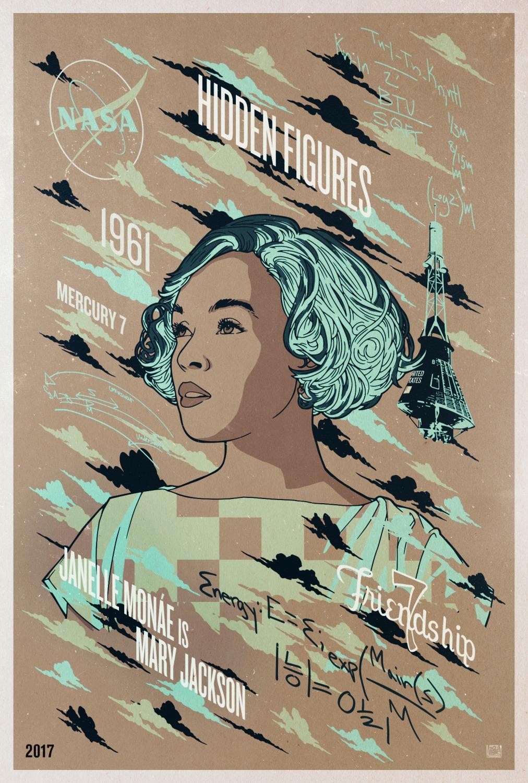 Hidden Figures Poster #8