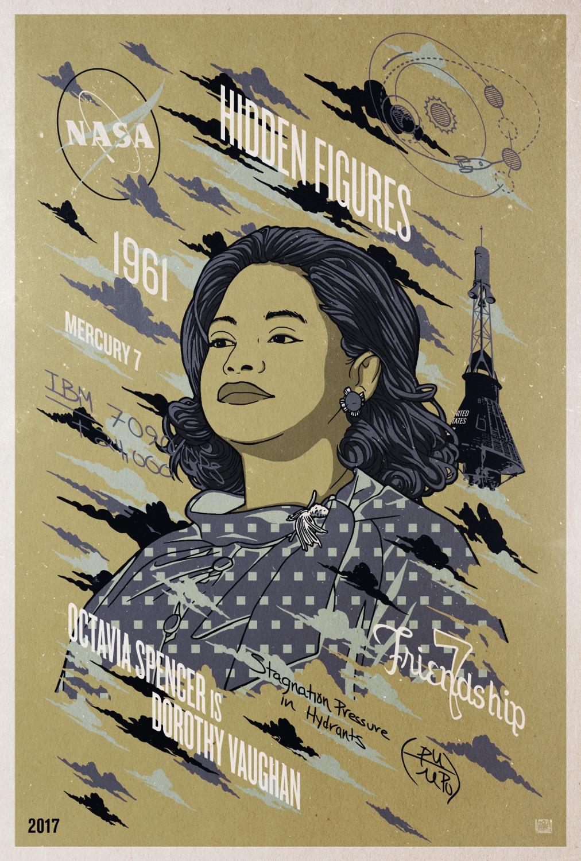 Hidden Figures Poster #9
