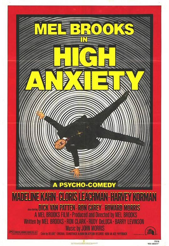 High Anxiety Poster #1