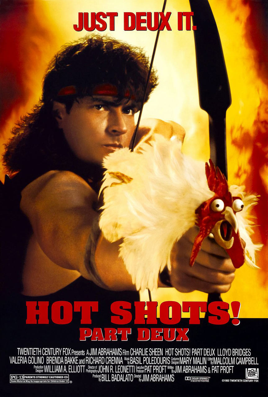 Hot Shots! Part Deux Poster #2