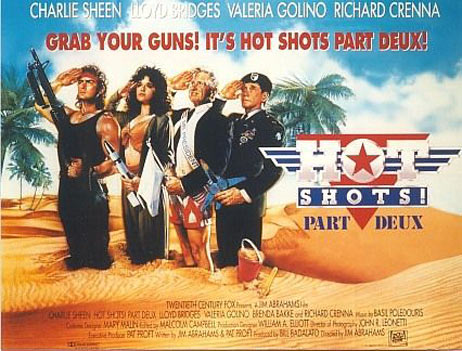Hot Shots! Part Deux Poster #3