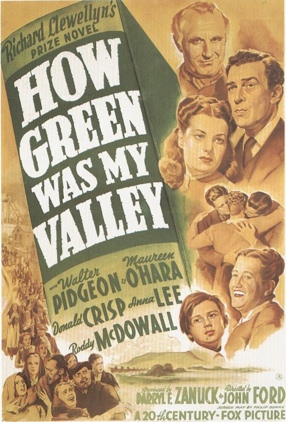 How Green Was My Valley Poster #1