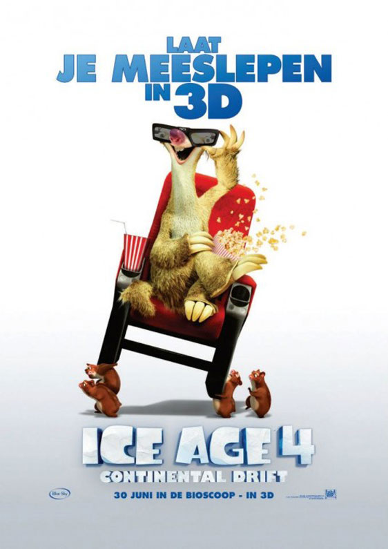 Ice Age: Continental Drift Poster #12