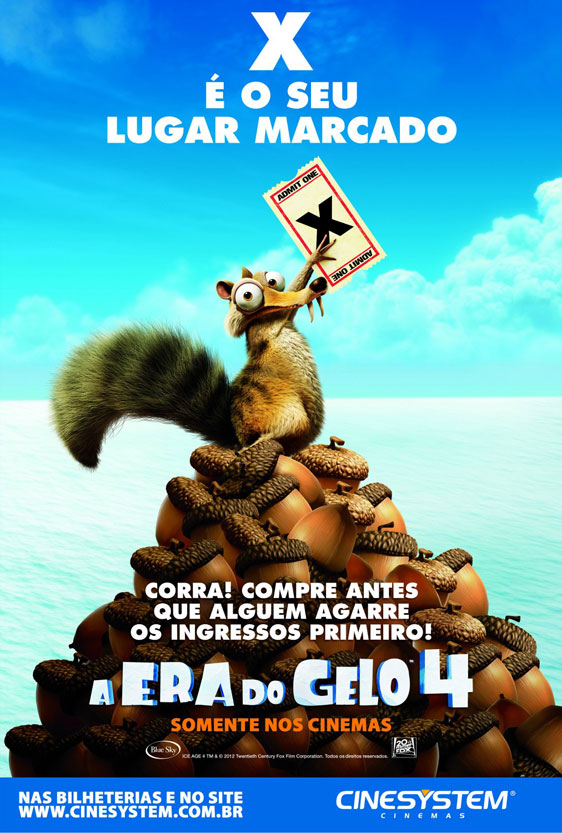 Ice Age: Continental Drift Poster #13