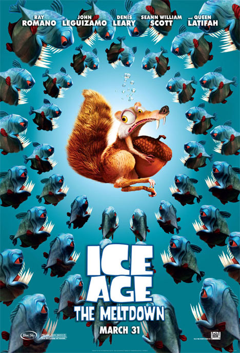 Ice Age: The Meltdown Poster #1