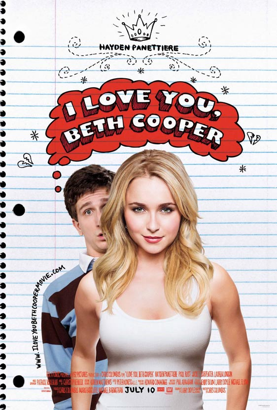 I Love You Beth Cooper Poster #1