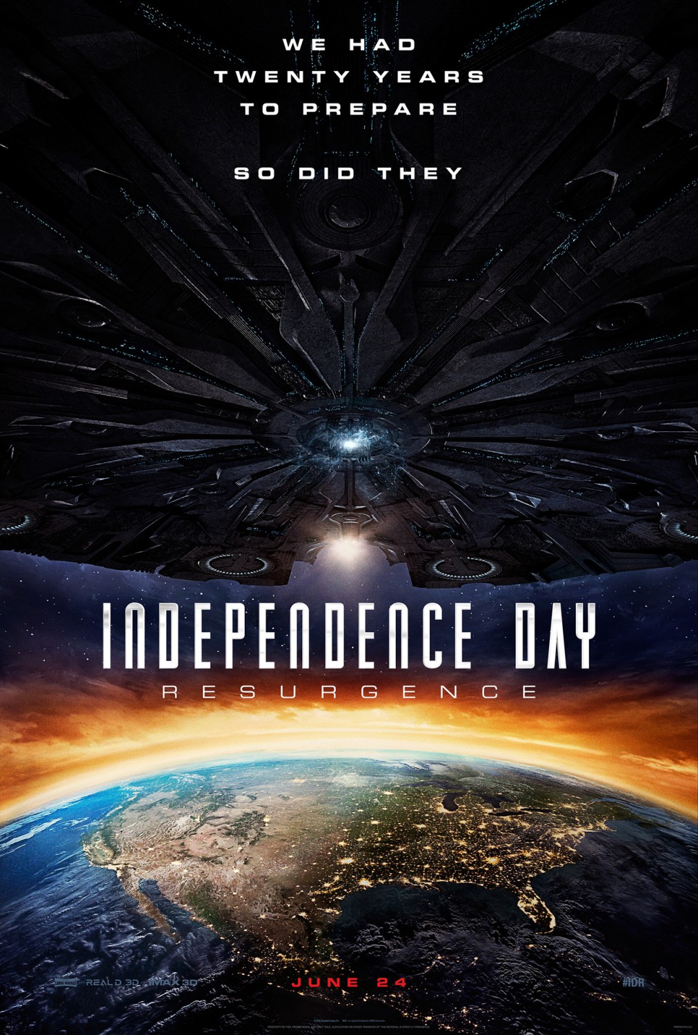 Independence Day: Resurgence Poster #1