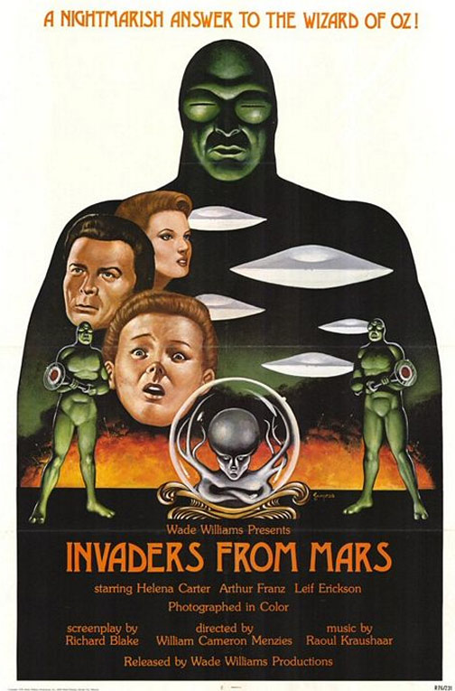 Invaders from Mars Poster #1