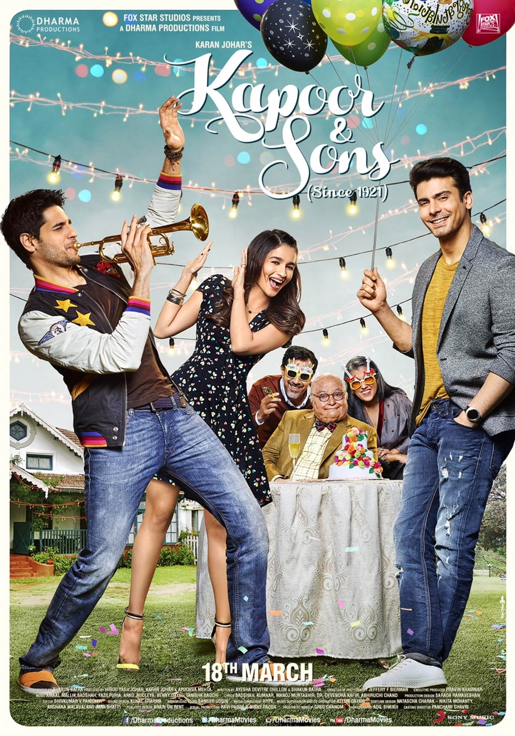 Kapoor and Sons Poster #1