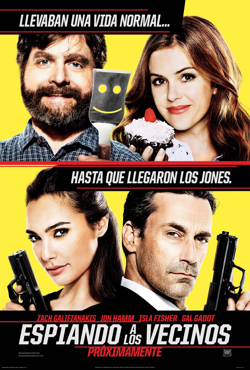 Keeping Up with the Joneses Poster #2