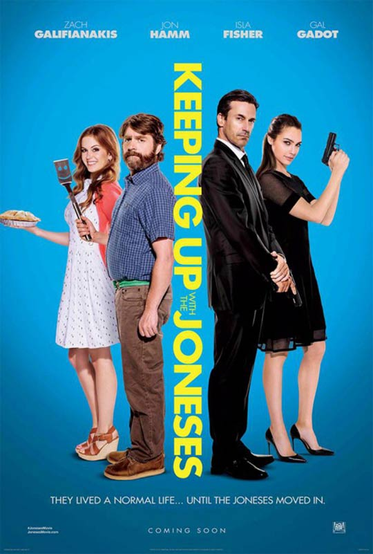 Keeping Up with the Joneses Poster #3