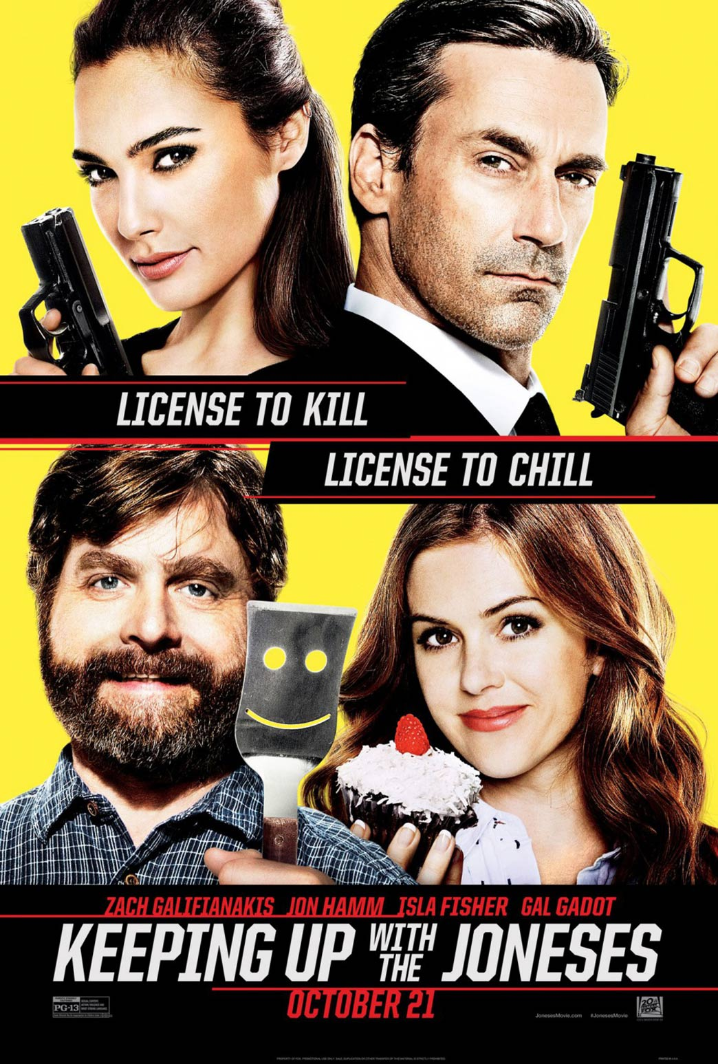 Keeping Up with the Joneses Poster #1