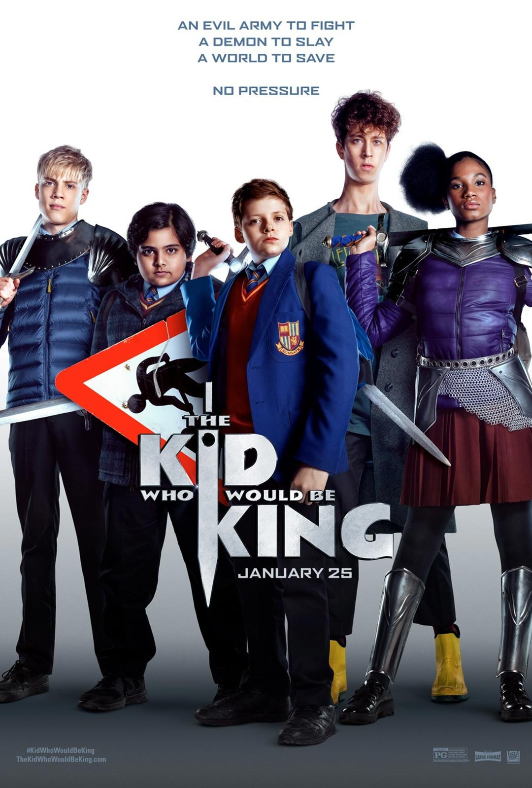 The Kid Who Would Be King Poster #2