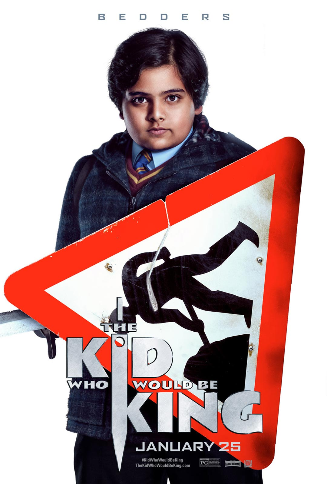 The Kid Who Would Be King Poster #4