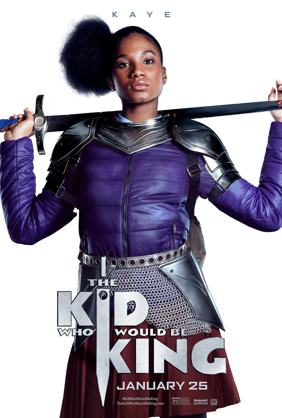 The Kid Who Would Be King Poster #6