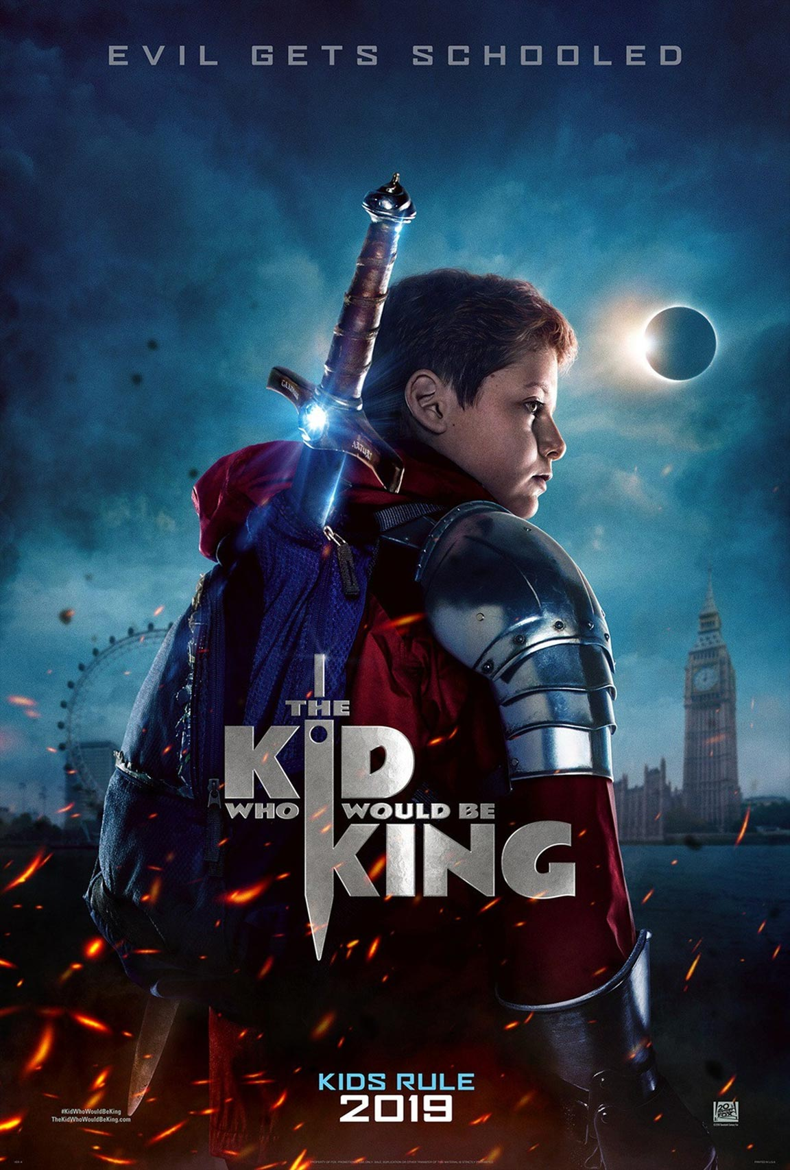 The Kid Who Would Be King Poster #1