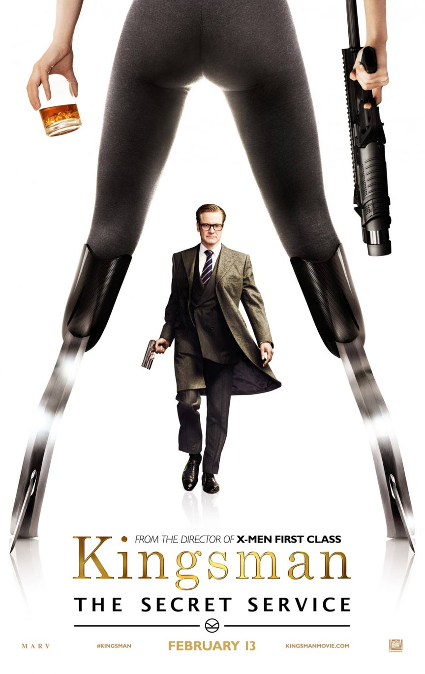 Kingsman: The Secret Service Poster #2