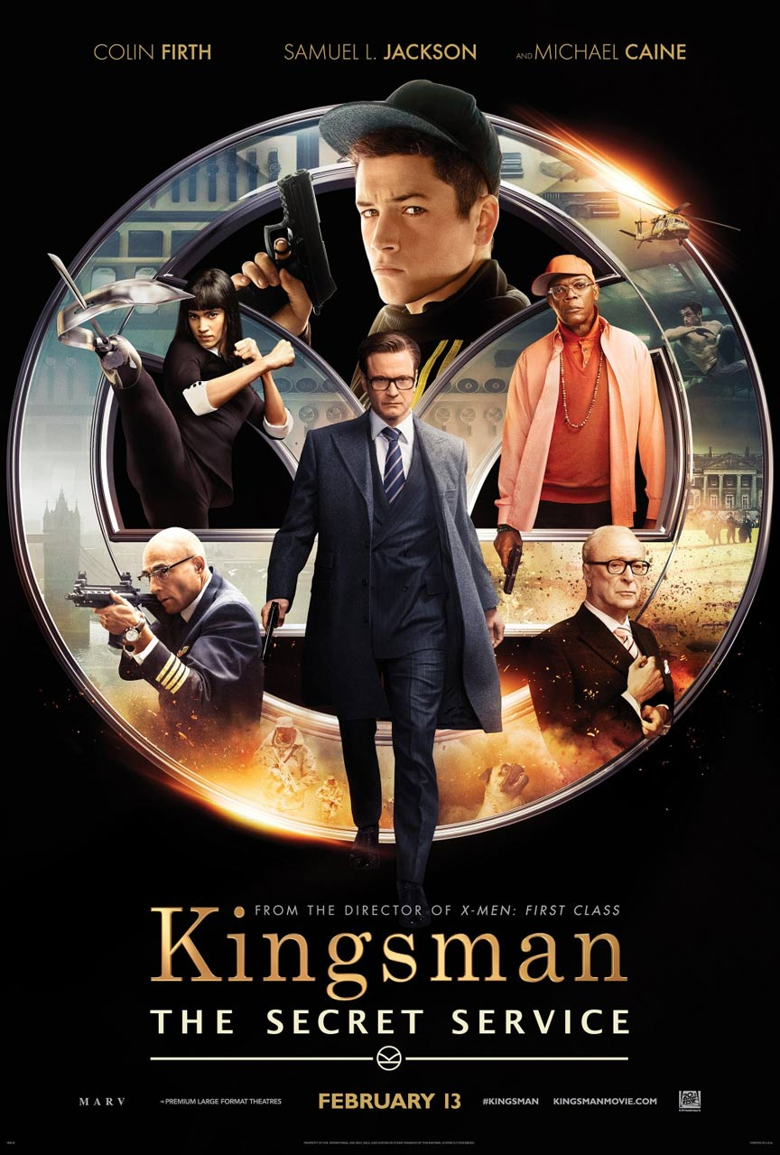 Kingsman: The Secret Service Poster #3