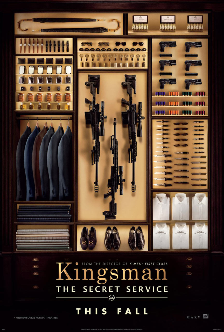Kingsman: The Secret Service Poster #1