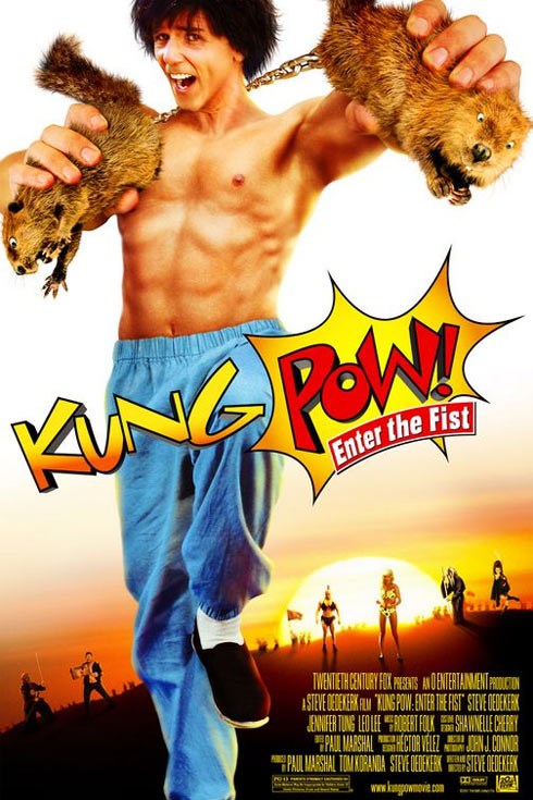 Kung Pow: Enter the Fist Poster #1