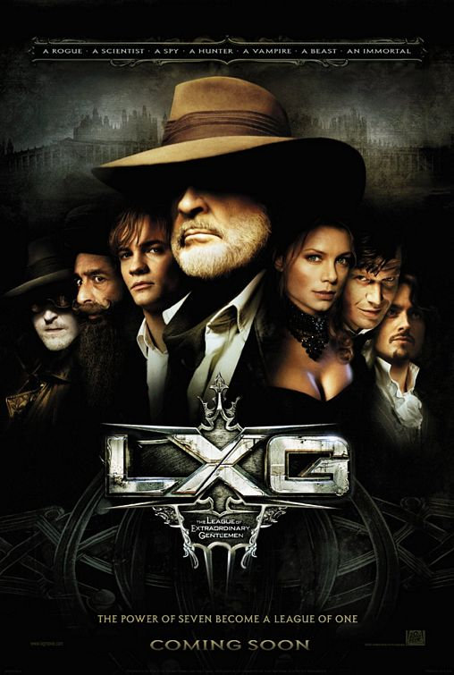 The League of Extraordinary Gentlemen Poster #1