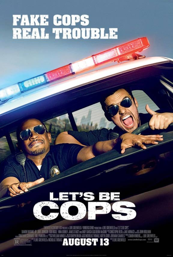 Let's Be Cops Poster #1